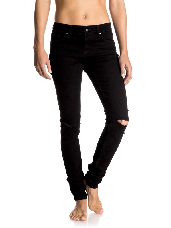 0 Rebel Come Skinny Jeans  ERJDP03136 Roxy