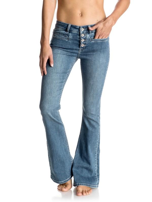 0 Lou Flare Flared Jeans  ERJDP03153 Roxy