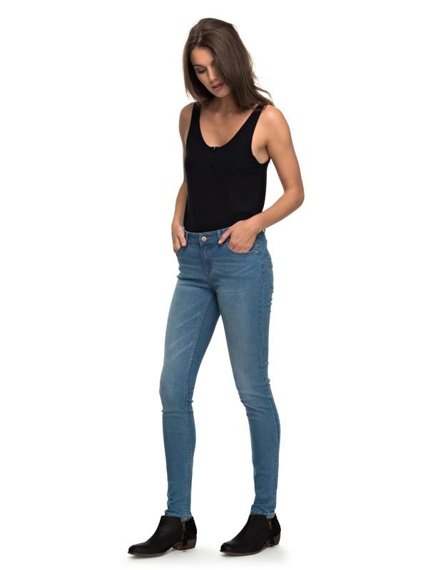 0 Suntrippers C - Skinny Fit Jeans Blue ERJDP03163 Roxy
