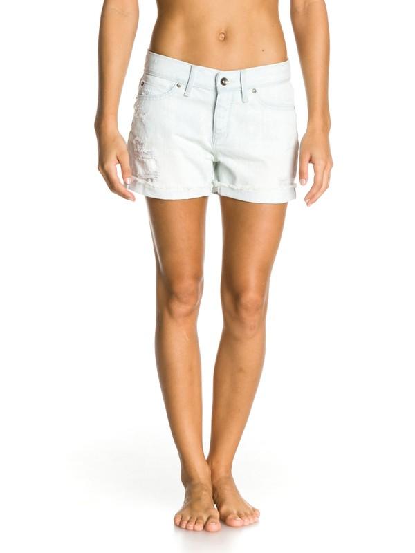0 Tomboy Bleach Shorts  ERJDS00008 Roxy