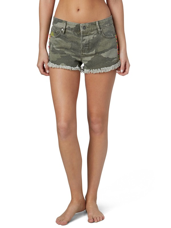 0 Breaking Camo Shorts  ERJDS00032 Roxy
