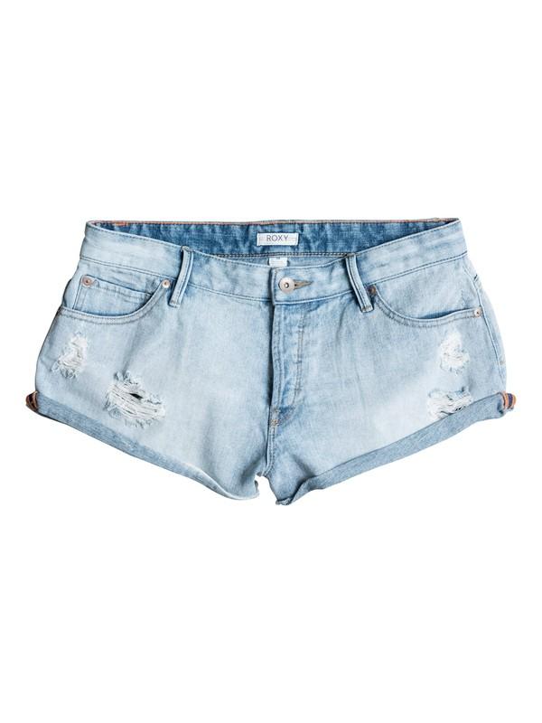 0 Vanilla Denim Shorts  ERJDS03052 Roxy