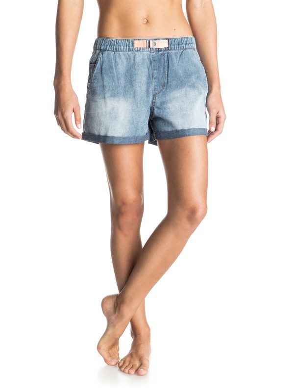 0 Fonxy Denim Shorts  ERJDS03070 Roxy