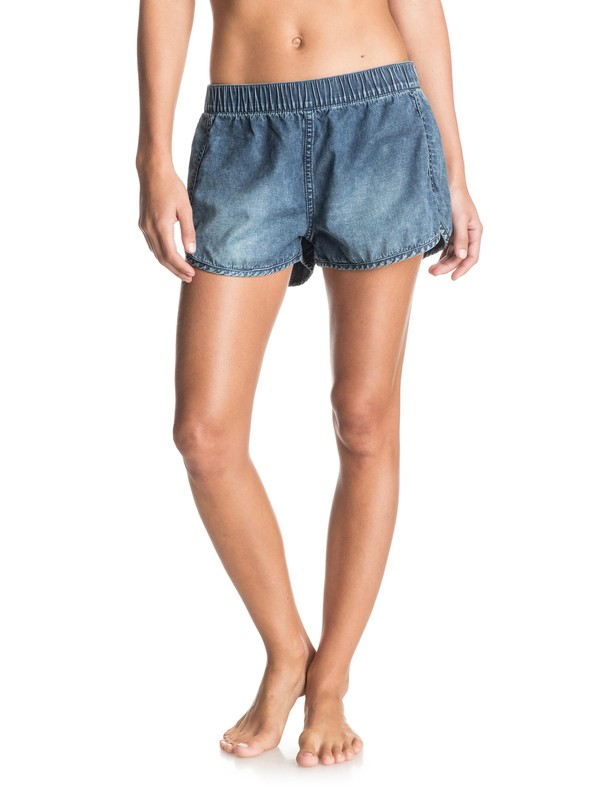 0 Popoyo  Denim Shorts  ERJDS03079 Roxy