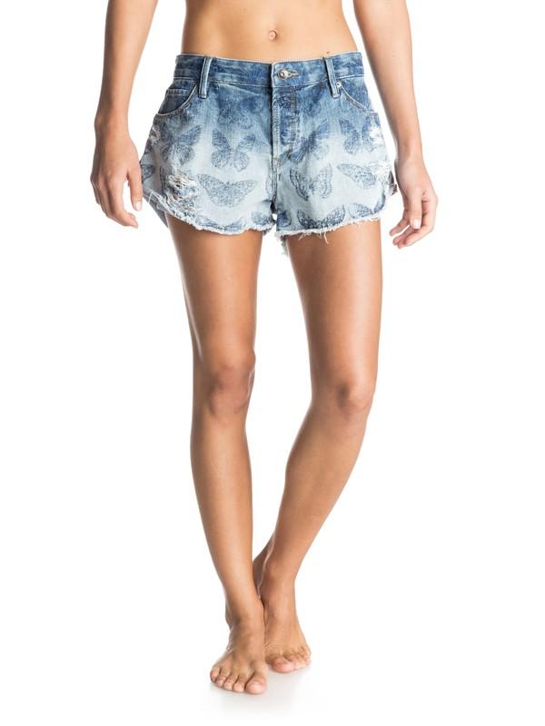 0 Michael Leon Carmel Coast Denim Shorts  ERJDS03082 Roxy