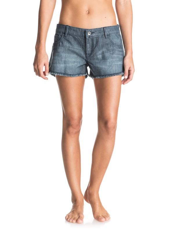 0 Luna Sea Denim Shorts  ERJDS03102 Roxy