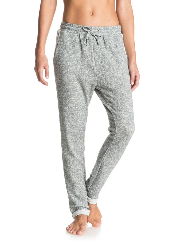 0 Signature Feeling - Joggers Gray ERJFB03079 Roxy