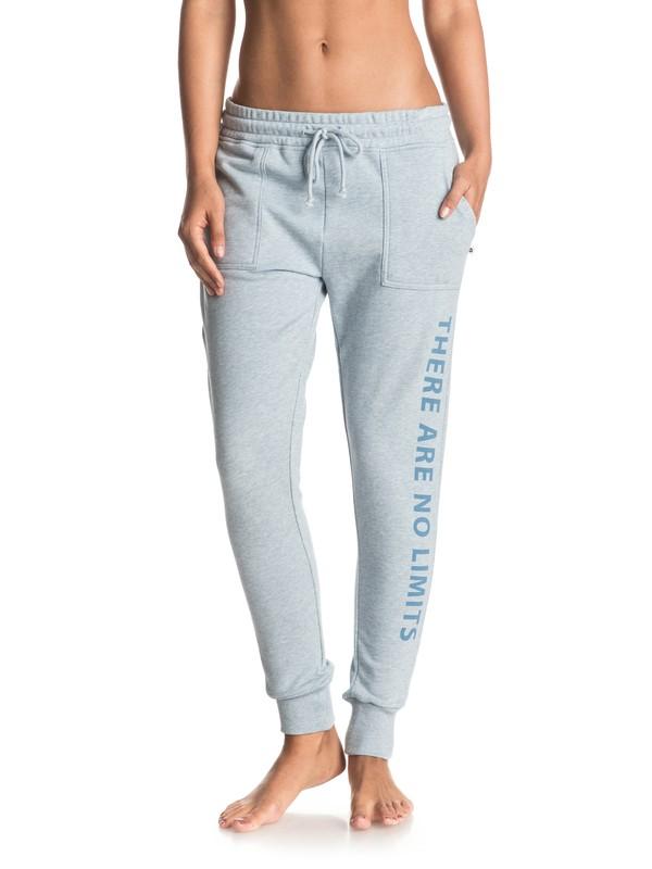 0 Love Strong - Pantalon de survêtement slim Bleu ERJFB03092 Roxy