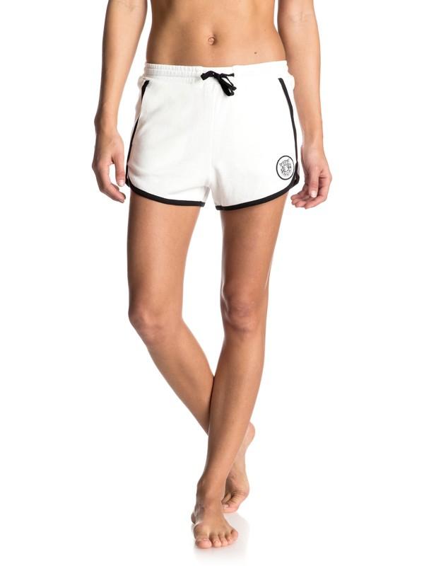 0 Hollow Dance - Ringer Shorts White ERJFB03099 Roxy
