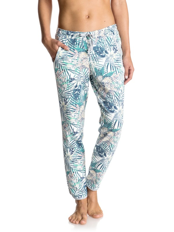 0 Hollow Dance Printed Jogger Pants  ERJFB03101 Roxy