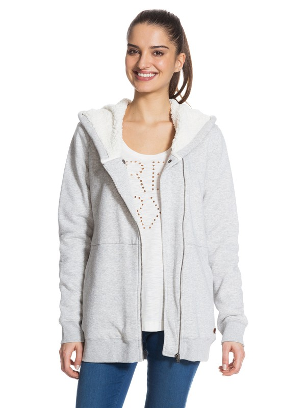 0 Twin Valley Sweater Grey ERJFT03008 Roxy