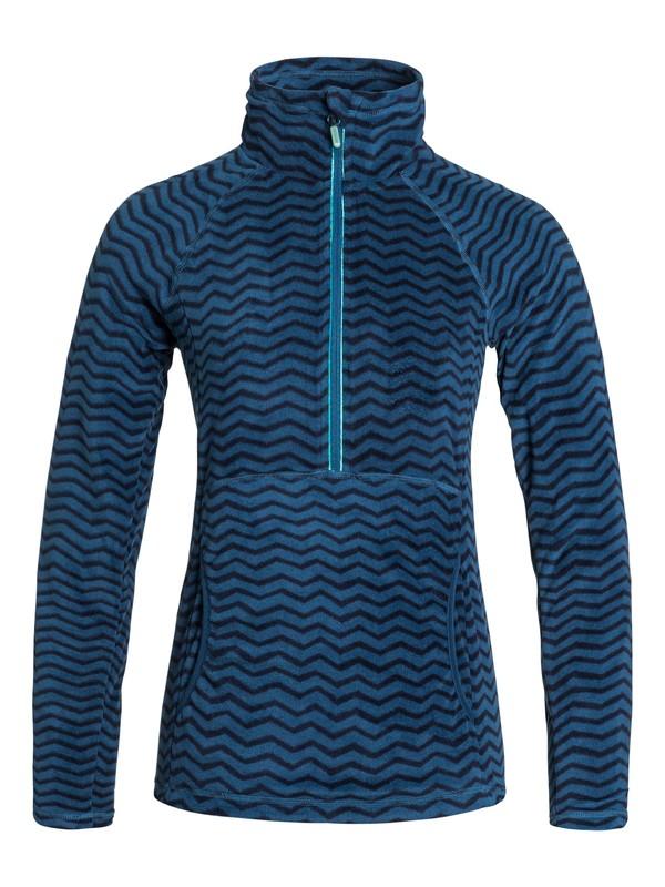 0 Cascade Printed Half-Zip Fleece Pullover  ERJFT03150 Roxy