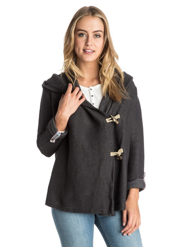 0 Rise Up! Hooded Cardigan  ERJFT03182 Roxy