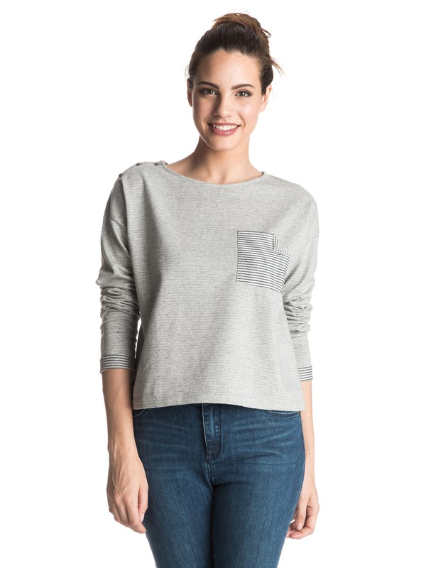0 Little Waves Pullover Sweatshirt  ERJFT03363 Roxy