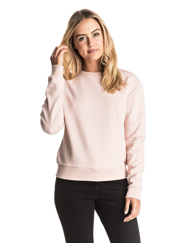 0 Going My Wave - Sweatshirt Rosa ERJFT03440 Roxy