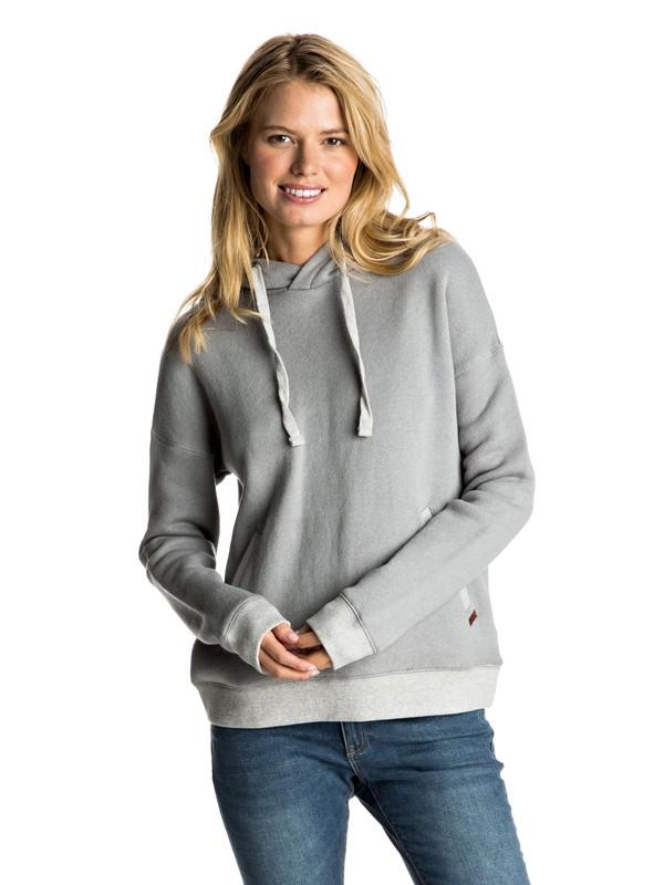0 Shoal Pullover Hoodie Grey ERJFT03477 Roxy