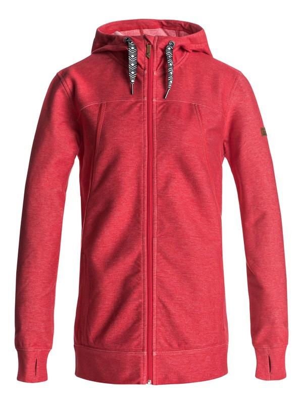 0 Frost - Zip-Up Hoodie Red ERJFT03555 Roxy