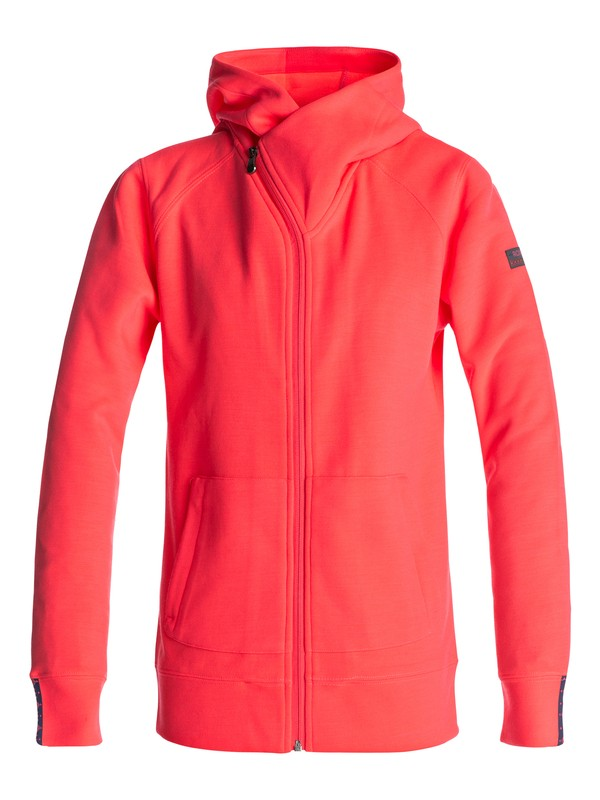 0 Wrap It Up - Zip-Up Hoodie Orange ERJFT03563 Roxy