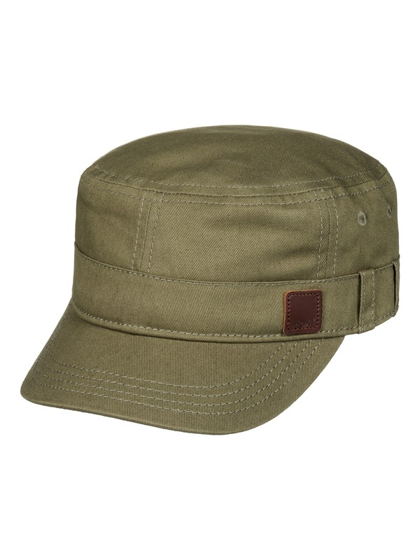 0 Military Hat Brown ERJHA03035 Roxy