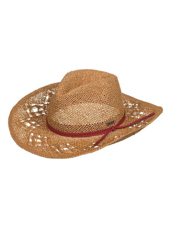 0 Cowgirl Straw Hat  ERJHA03047 Roxy