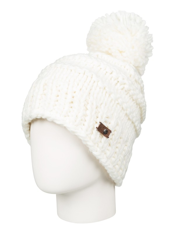 0 Winter Beanie White ERJHA03089 Roxy