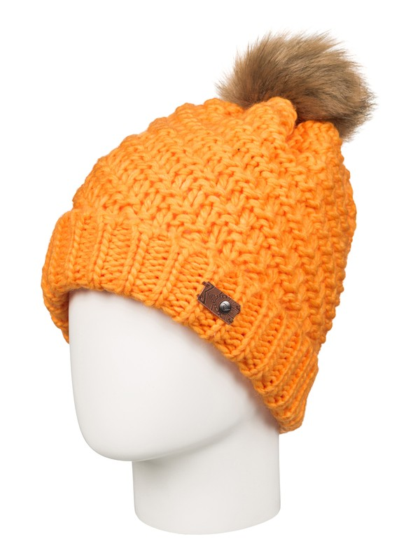 0 Blizzard Beanie Orange ERJHA03096 Roxy