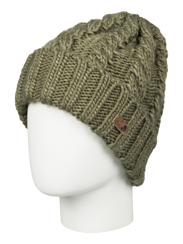 0 Tram Beanie Brown ERJHA03105 Roxy