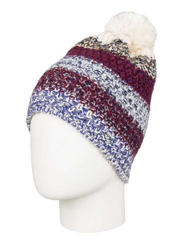 0 Pilot Of Storm Beanie Purple ERJHA03119 Roxy