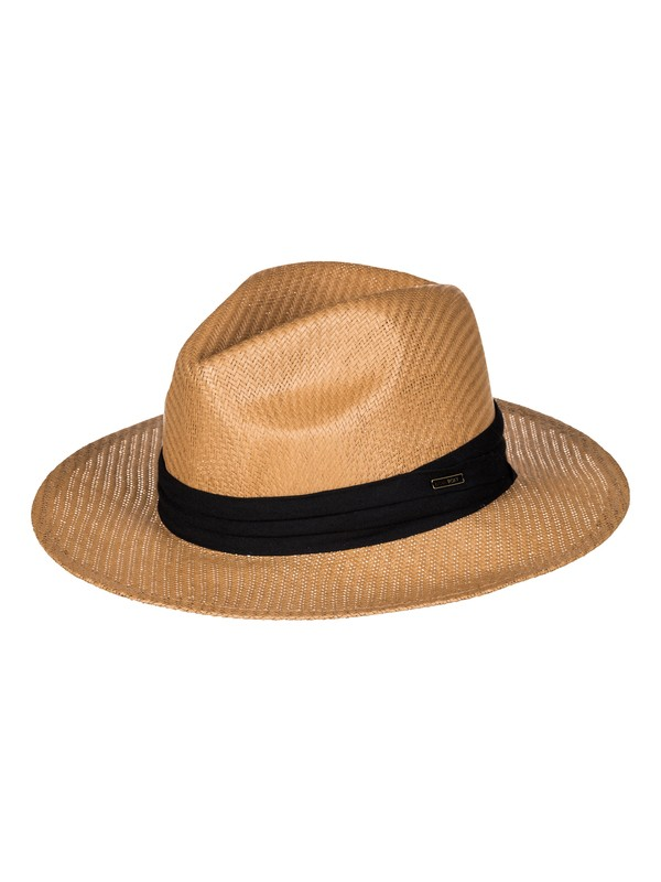 0 Here We Go Straw Panama Hat Multicolor ERJHA03157 Roxy