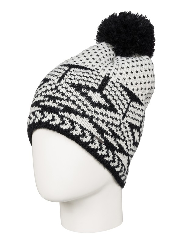 0 Waves On Beanie Grey ERJHA03171 Roxy