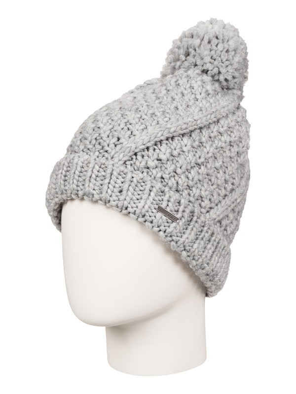 0 Come Home Beanie Grey ERJHA03173 Roxy