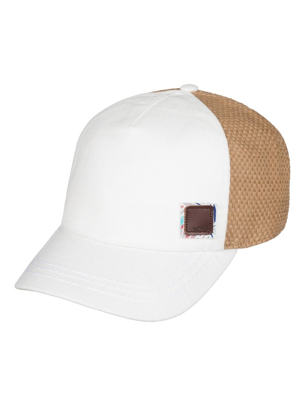 0 Incognito Baseball Hat White ERJHA03202 Roxy