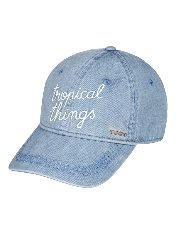 0 Dear Believer Baseball Hat Blue ERJHA03205 Roxy