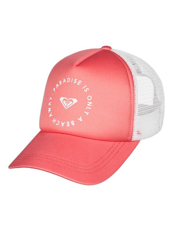 0 Truckin Trucker Hat Pink ERJHA03209 Roxy