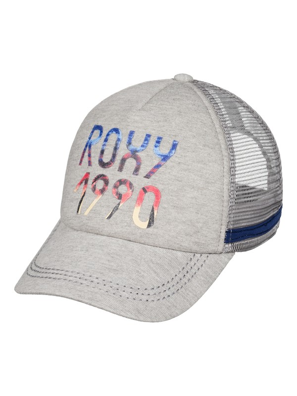 0 Dig This Trucker Hat Grey ERJHA03210 Roxy