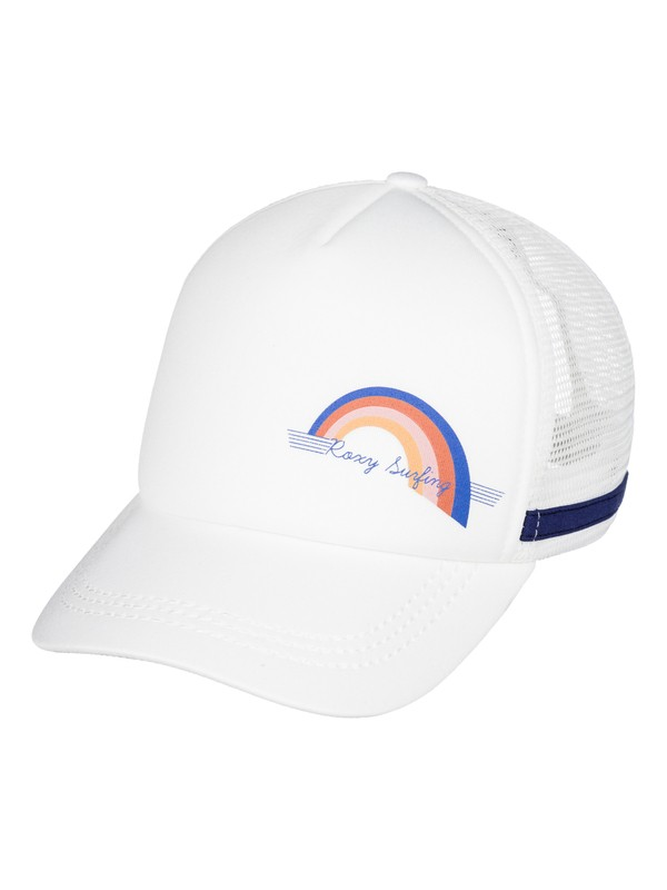 0 Dig This Trucker Hat White ERJHA03210 Roxy
