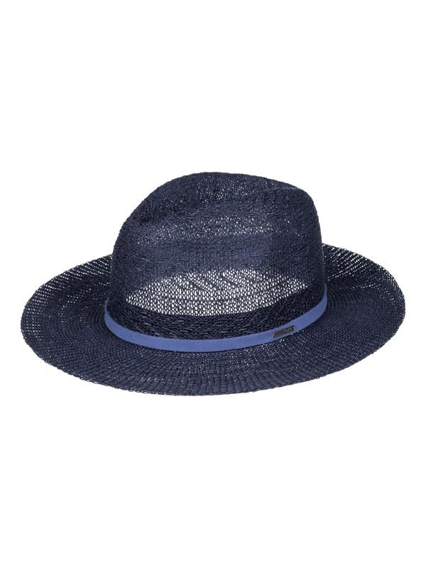 0 In The Sunshine Straw Fedora Blue ERJHA03216 Roxy