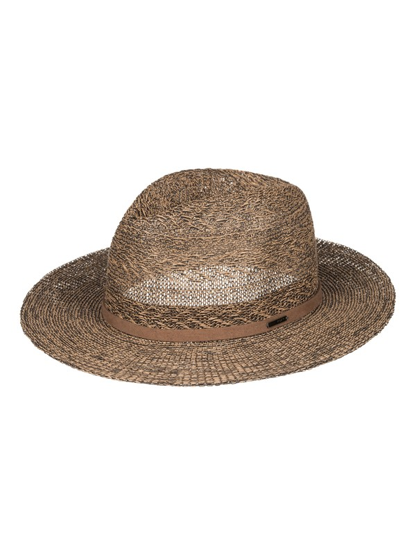 0 In The Sunshine Straw Fedora Multicolor ERJHA03216 Roxy