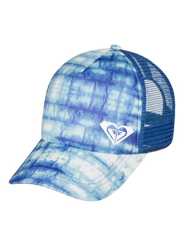 0 Water Come Down Trucker Hat White ERJHA03228 Roxy
