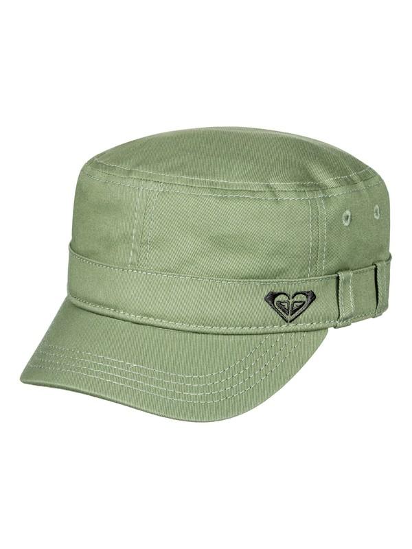 0 Military Hat Green ERJHA03229 Roxy