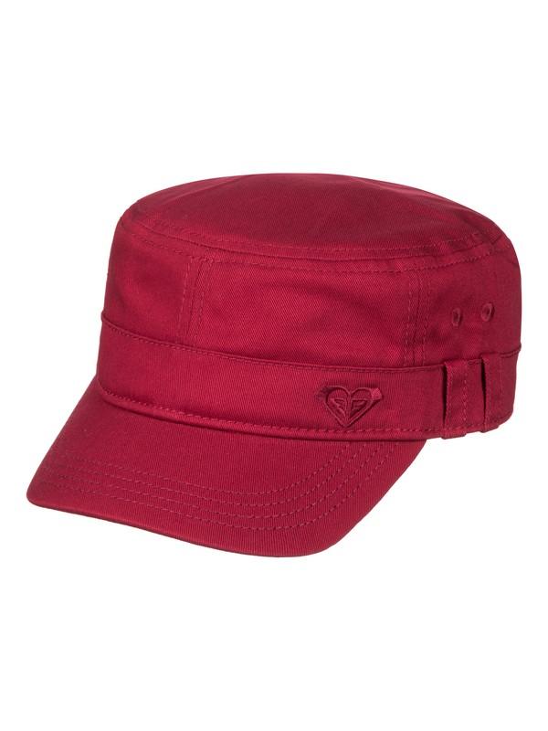 0 Military Hat Red ERJHA03229 Roxy