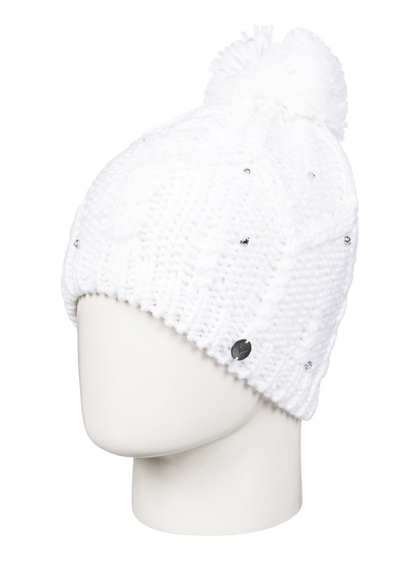 0 Shooting Star - Beanie White ERJHA03291 Roxy