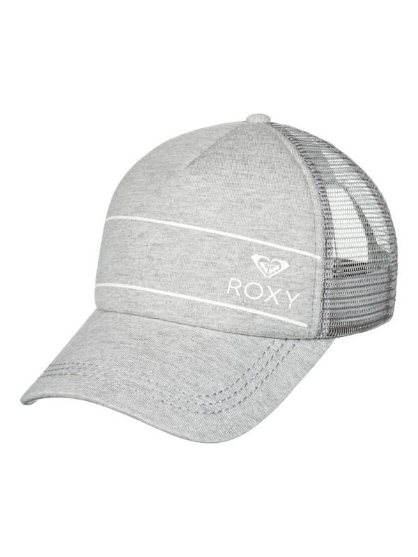 0 Truckin Trucker Hat Grey ERJHA03315 Roxy