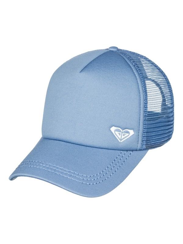 0 Finishline Trucker Hat Blue ERJHA03320 Roxy