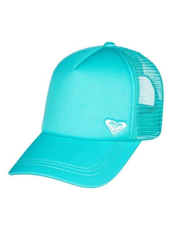 0 Finishline Trucker Hat Blue ERJHA03320 Roxy