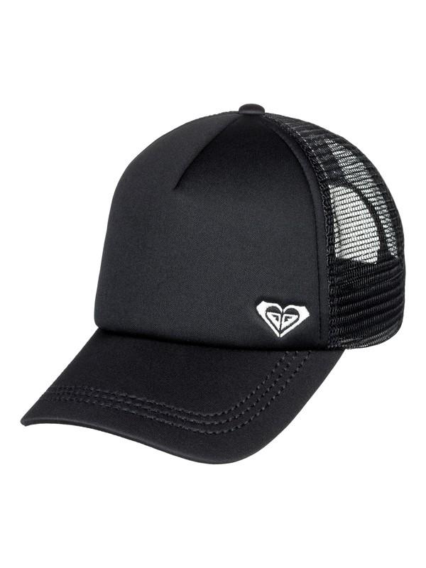0 Finishline Trucker Hat Black ERJHA03320 Roxy