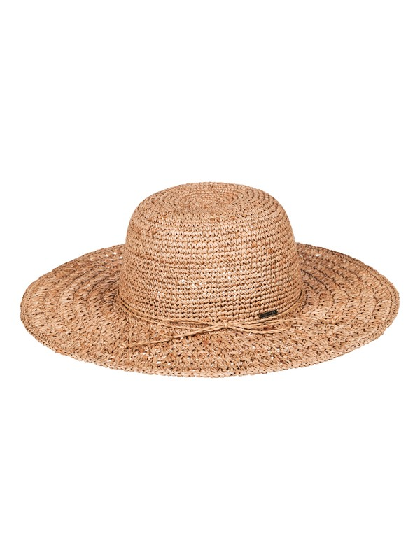 0 Banana Palm Straw Sun Hat Yellow ERJHA03332 Roxy
