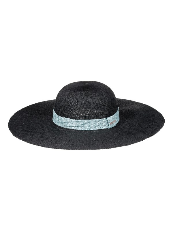 0 Soak In The Sun Straw Sun Hat Black ERJHA03368 Roxy