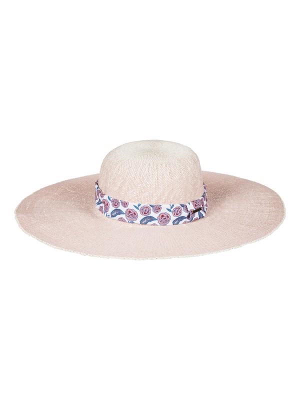 0 Soak In The Sun Straw Sun Hat Pink ERJHA03368 Roxy