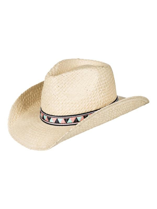 0 Cowgirl  Straw Cowboy Hat Yellow ERJHA03382 Roxy